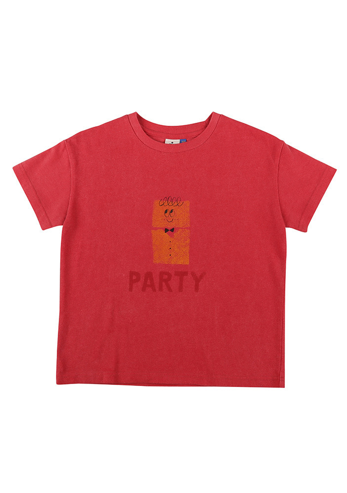 PARTY SHORT SLEEVE T-SHIRT_Cherry pink_Baby