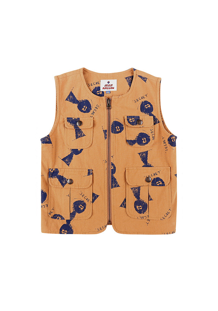 SECRET COTTON VEST