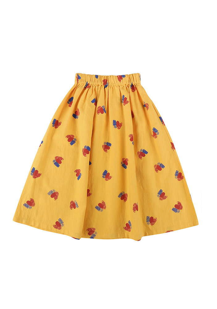 DOUBLE HEARTS MIDI SKIRT#2