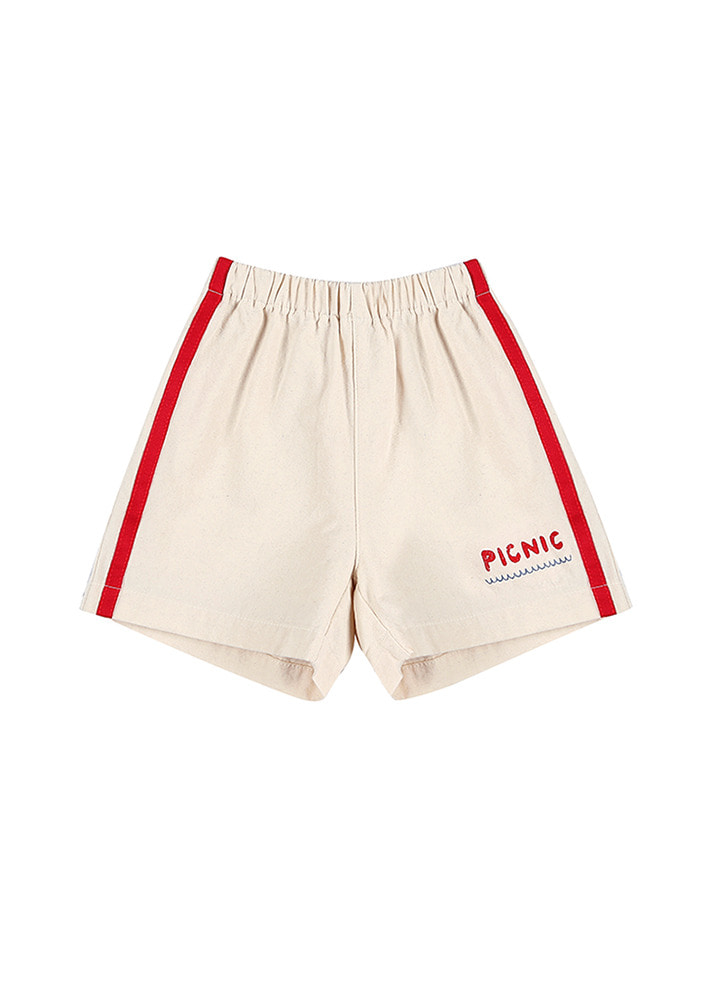 PICNIC COTTON TRACK SHORTS_Kids#2