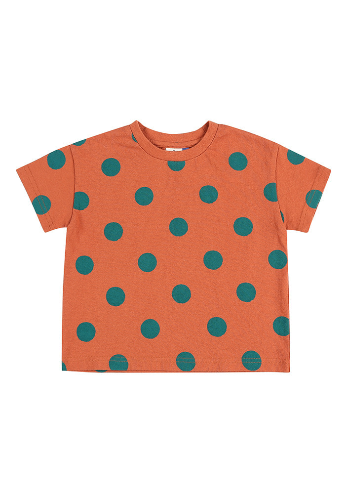 DOTTED SHORT SLEEVE T-SHIRT_Baby
