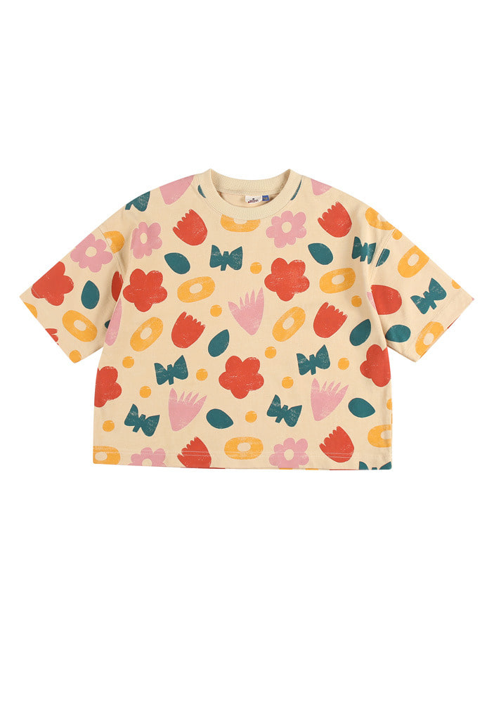 FLOWER BOX  T-SHIRT_Baby