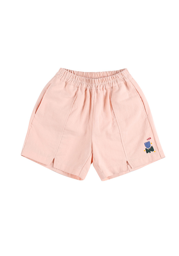 TULIP COTTON SHORTS_Pink_Baby#2