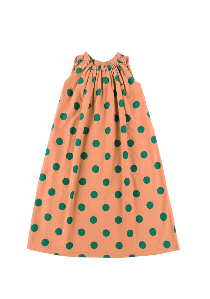 GREEN DOTTED DRESS_#2