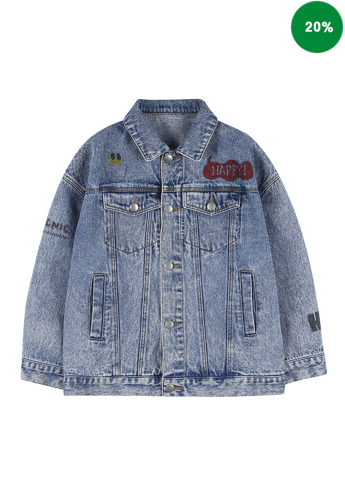 PAINTING DENIM JACKET