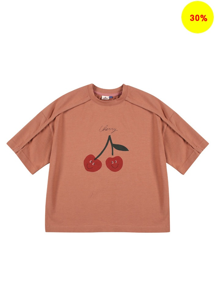 CHERRY SHORT SLEEVE T-SHIRT_Baby