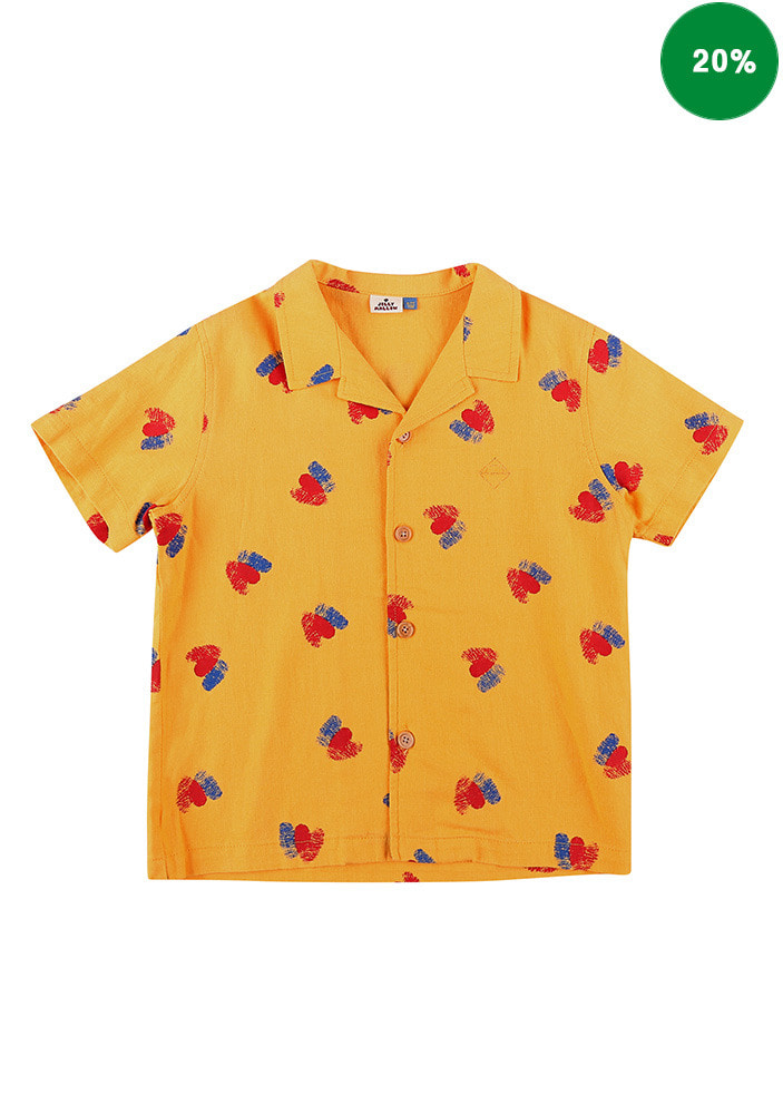 DOUBLE HEARTS SUMMER SHIRT#2