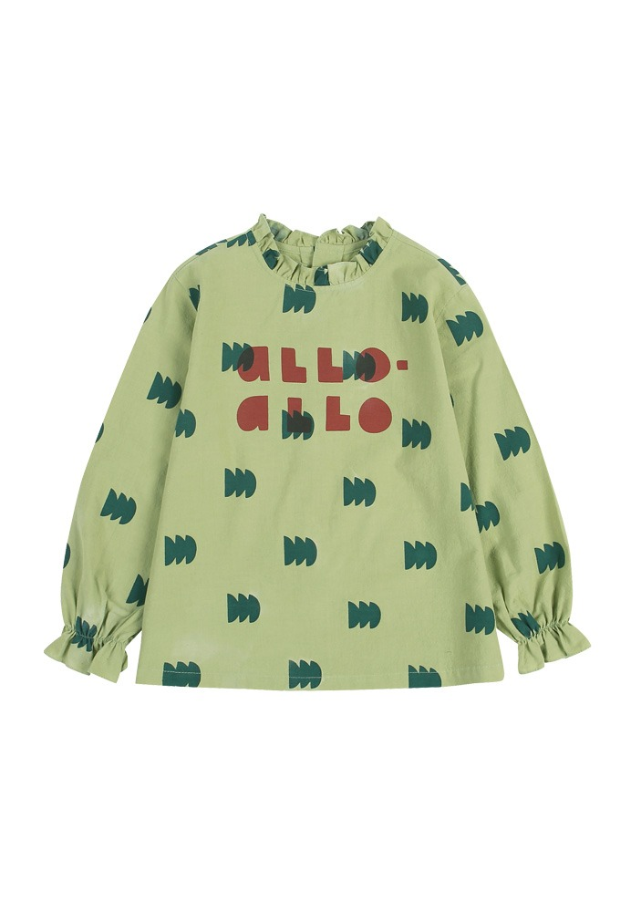 ALLO GREEN TREE BLOUSE_Kids