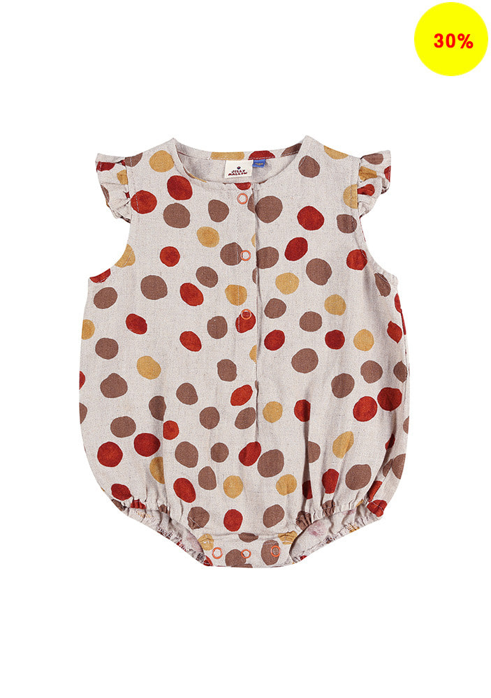 POLKA-DOT PLAYSUIT