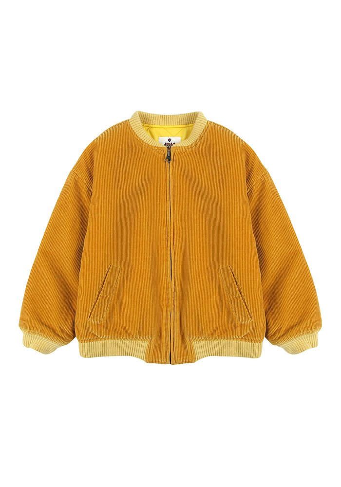 JM CORDUROY JACKET_Yellow_Baby
