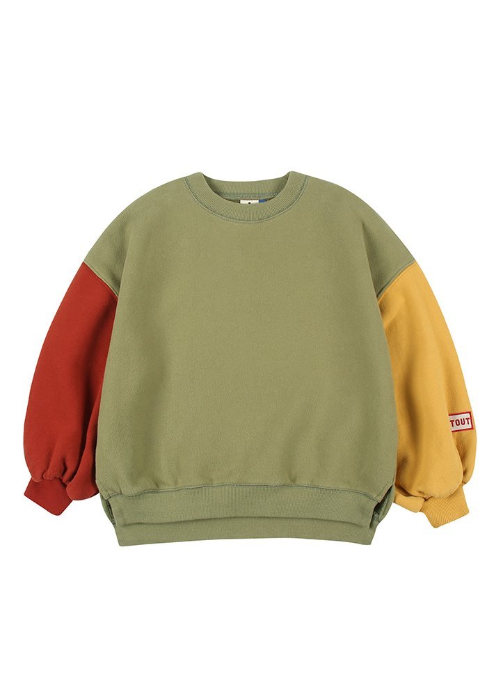 BALLOON SWEATSHIRT_Green_Kids#2