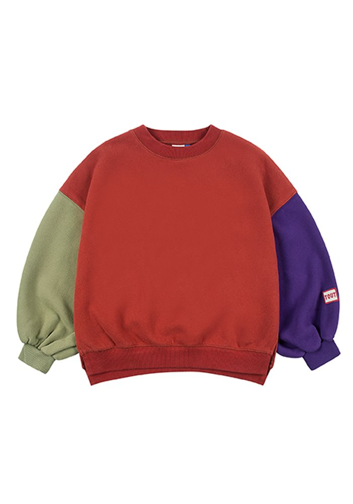 BALLOON SWEATSHIRT_Brick_Kids #2