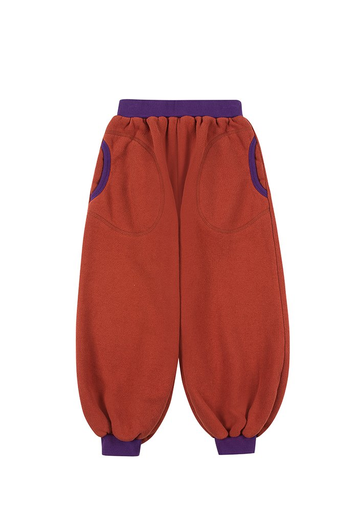 BALLOON LOUNGE PANTS_Brick_Kids