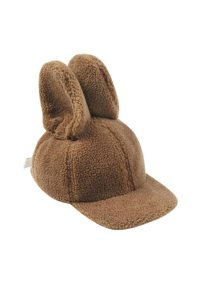 NEW RABBIT HAT_Brown#2