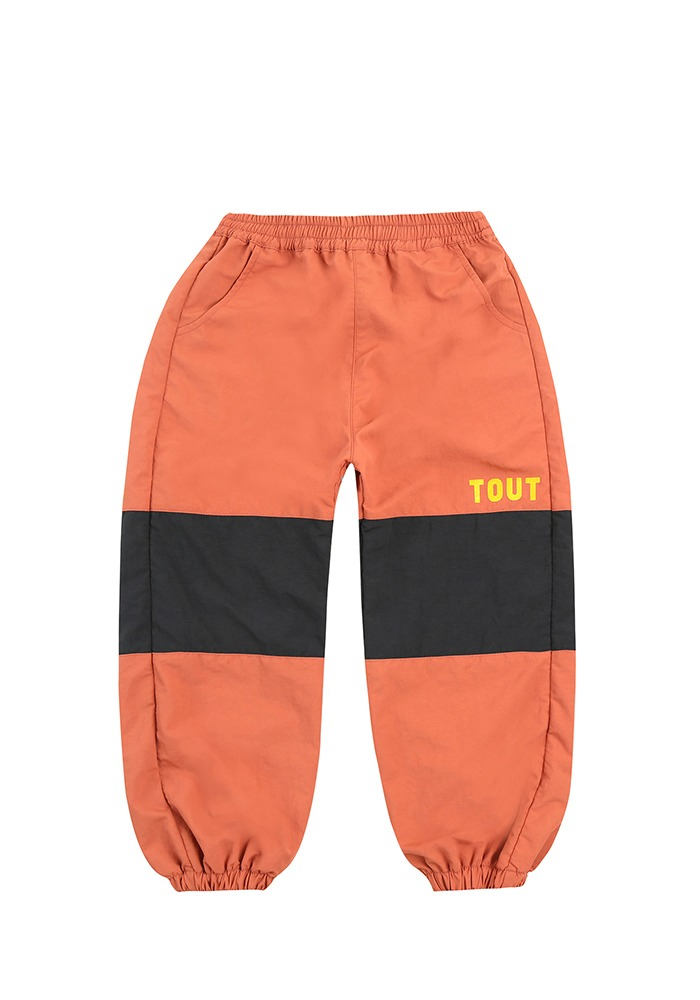 TOUT NYLON PANTS_Brown
