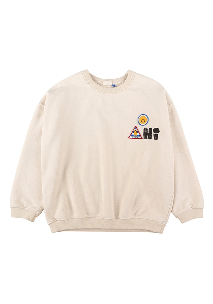 PICNIC PATCH SWEATSHIRT_Baby