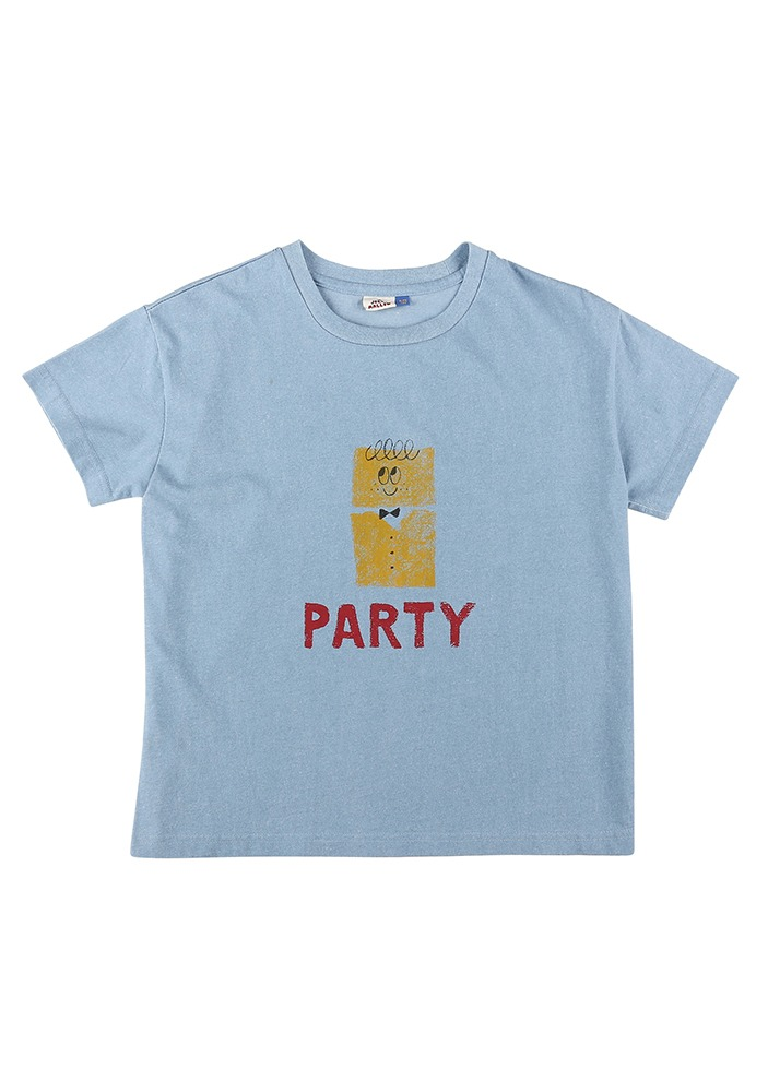 PARTY SHORT SLEEVE T-SHIRT_Blue_Baby